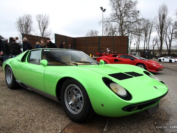 Photos du jour : Lamborghini Miura (Cars and Coffee Paris)
