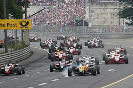 F3 Euro Série au Norisring: Jules Bianchi toujours leader
