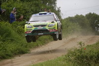 WRC-Pologne: Les Ford s'envolent vers le doublé.