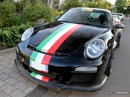 Photos du jour : Porsche 911 997 GT3 RS By Grand Prix Racing Gallarate (Nürburgring)