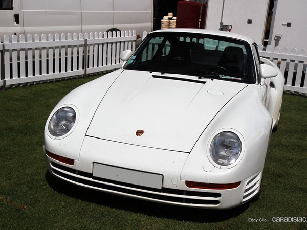 Photos du jour : Porsche 959 (Le Mans Classic)