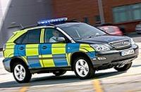 Angleterre : les policiers à bord d'hybrides Lexus