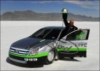 Ford Fusion Hydrogen 999 : l'écologie roule rapidement !