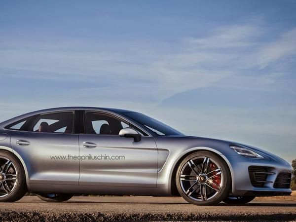 Future Porsche Panamera : comme ça ?