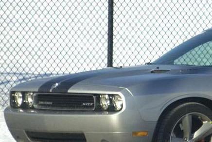 Dodge Challenger à nu