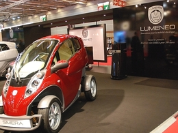 Mondial de l'auto 2010, en live : Lumeneo, des autos 100% électriques