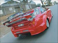 Saucisse du vendredi : Nissan 200 SX Mach 4