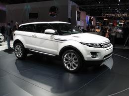 En direct du Mondial de Paris 2010: Le Range Rover Evoque... quoi ?