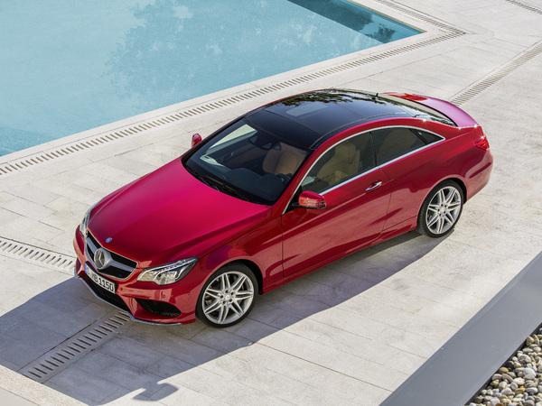 Mercedes Classe E restylée : les coupé et cabriolet