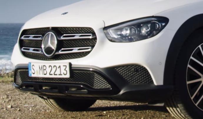Le restylage du Mercedes Classe E All-Terrain annoncé en vidéo