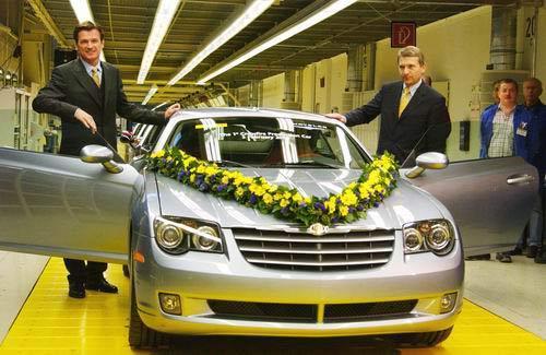 Chrysler Crossfire : 42 000 € la bête