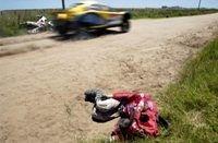 Dakar 2009 : Un motard Espagnol dans le coma