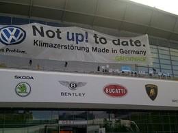 Salon de Francfort 2011 : Volkswagen organise une contre-manifestation face à Greenpeace