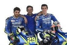 MotoGP Suzuki : présentation à Sepang