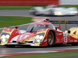 Belicchi avec Prost et Jani à Petit Le Mans