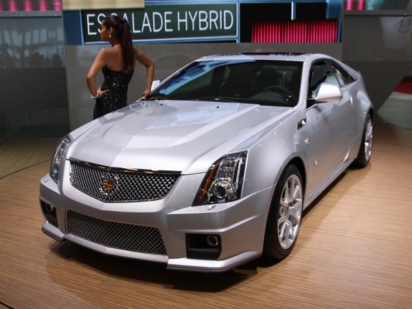 En direct du Mondial de Paris 2010 : Cadillac CTS-V Coupé, celle qui fait trembler les M, AMG et RS