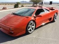 Une Lamborghini Diablo équipée d'un V8 de Corvette