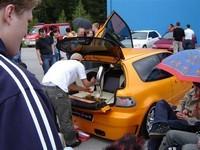La Honda Civic bien fraîche de vincent vaillant !!!