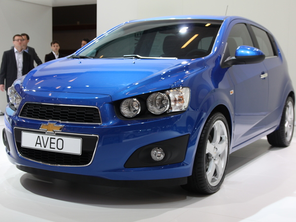 En direct du Mondial de Paris 2010 : Chevrolet Aveo, la fausse méchante