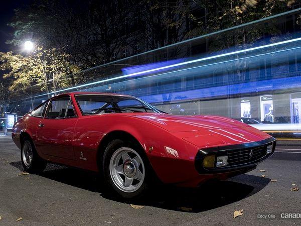 Photos du jour : Ferrari 365 GTC/4 (Vente Artcurial)