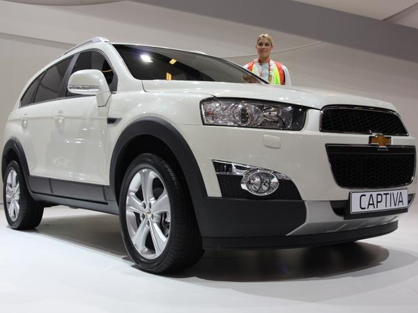 En direct du Mondial de Paris 2010 : Chevrolet Captiva, restylé pour s'affirmer