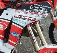Les deux très belles 450 de Beta Boano Rally Sport