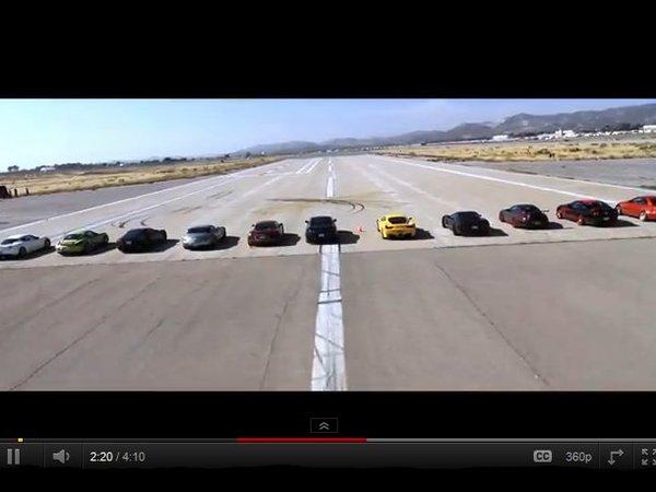 [vidéo] La plus grande et la plus chère drag race du monde ! (devinez qui gagne à la fin)