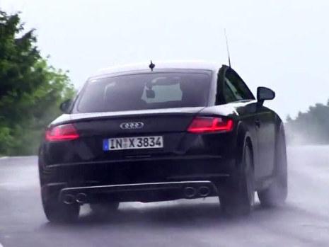 Surprise : le nouveau Audi TTS survire
