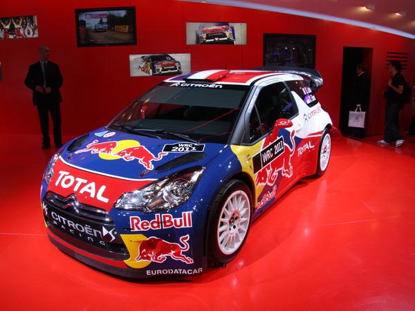 Mondial de Paris 2010 : Citroën DS3 WRC : la nouvelle arme de Sébastien Loeb
