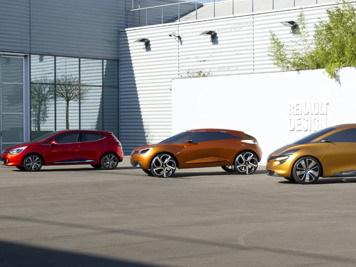 La Renault Clio IV à Paris l'an prochain
