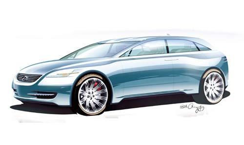 Lexus HPX : un Crossover hautes performances