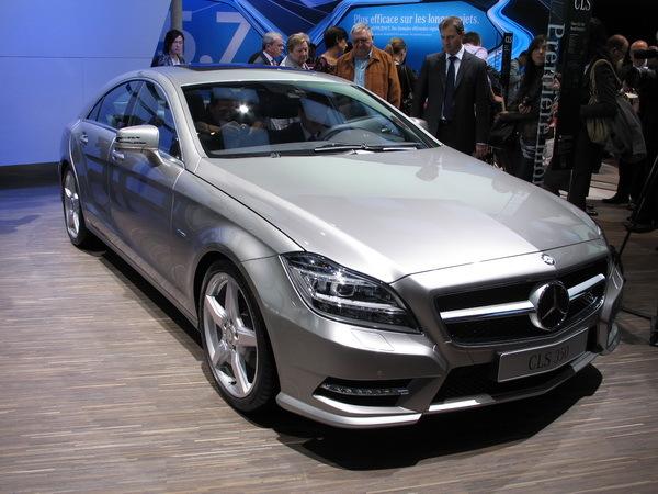 En direct du Mondial de Paris 2010: Mercedes dévoile sa nouvelle CLS.