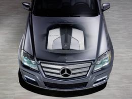 Mercedes : nouveau 4 cylindres Diesel Bluetec pour 2009 (+photos HD GLK Townside)
