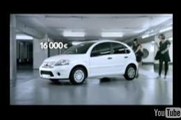 [Vidéo] « Shopping », une pub en argent pour la C3
