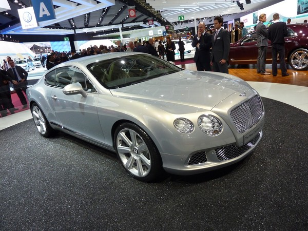 Mondial de Paris 2010 live : nouvelle Bentley Continental GT, façon Mulsanne