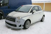 Abarth (Fiat) 500 SS: cette fois-ci en classe de neige