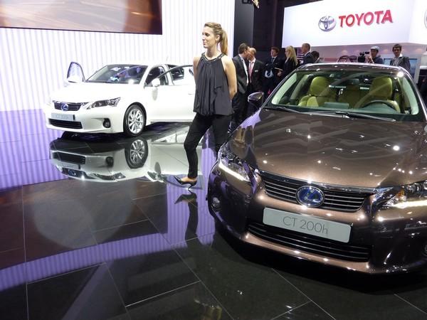 Mondial de Paris 2010 Live : Lexus CT200h, cette fois c'est la bonne