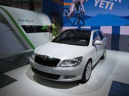 En direct du Mondial de Paris : le Concept Skoda Octavia Green E Line, la surprise électrique !