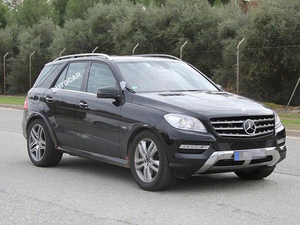 Le Mercedes ML coupé en vadrouille