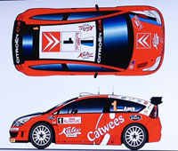 WRC: Citroën C4 WRC officielle pour Aava!