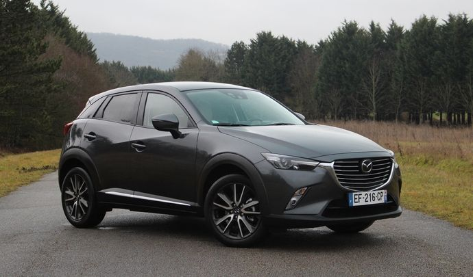 Futur Mazda CX-3 : plus grand, et avec moteur Skyactiv X