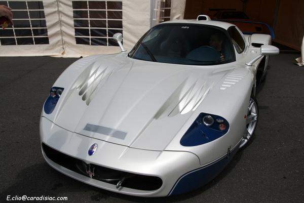 Photos du jour : Maserati MC12