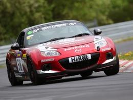 Mazda aux 24 Heures du Nürburgring 2014 avec une MX-5
