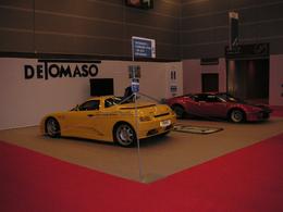 En direct du Mondial de Paris 2010 - Les 30 ans de De Tomaso: la fin d'une époque