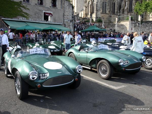 Photos du jour : Aston Martin DB3S ( Parade des Pilotes)