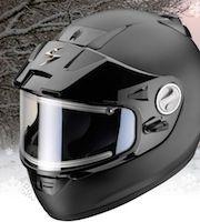 Scorpion: l'Exo 900 Air a aussi ses kits pour le froid.