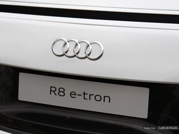 Photos du jour : Audi R8 E-Tron