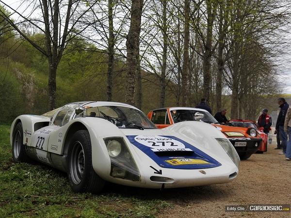 Photos du jour : Porsche 906 (Tour Auto)