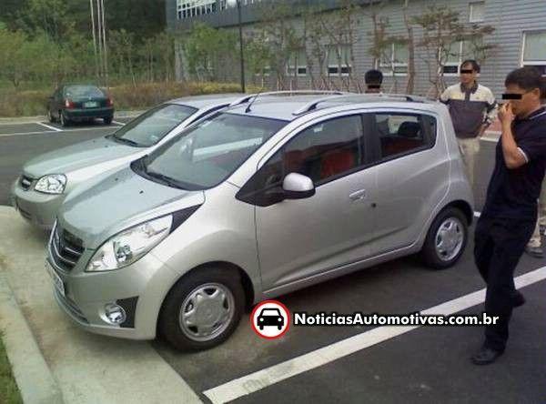 La Chevrolet Spark déjà dans la circulation sous le badge Daewoo