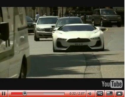 [vidéo] : Citroën GT Concept dans Londres